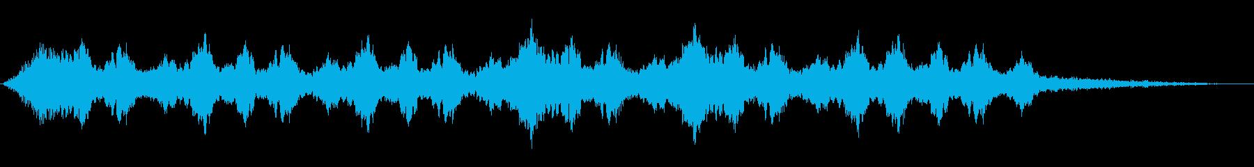 宇宙からの来訪者の再生済みの波形