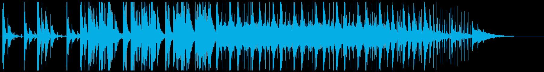 パーカッション系楽器をふんだんに使用♫の再生済みの波形