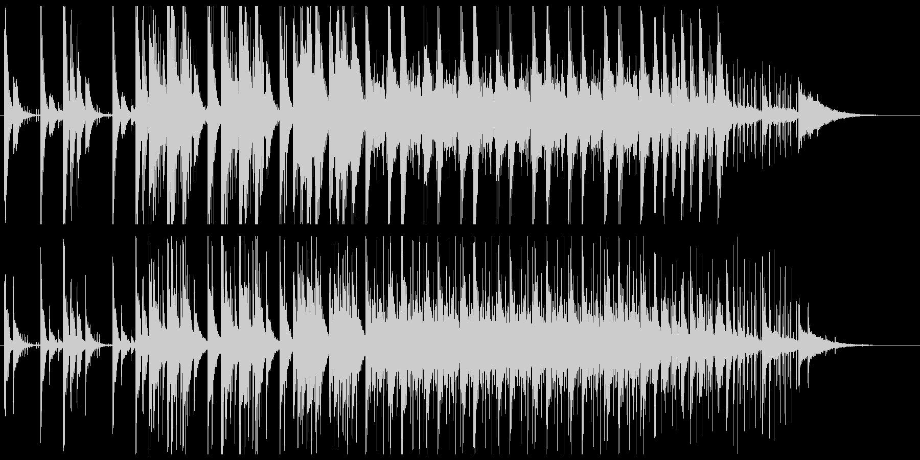 パーカッション系楽器をふんだんに使用♫の未再生の波形