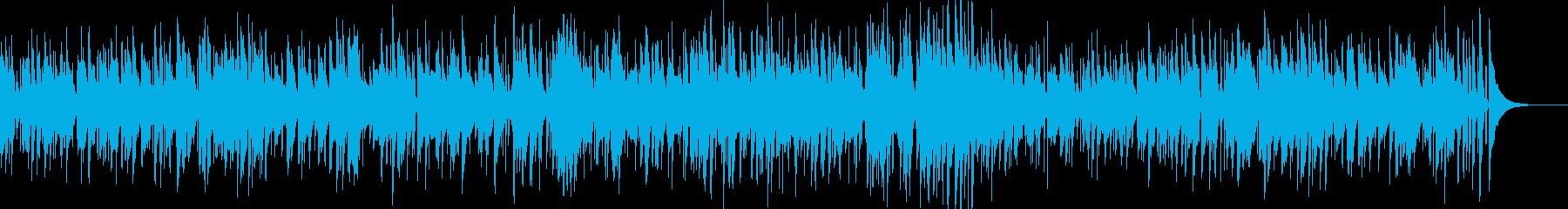 お洒落なジャズピアノトリオ11の再生済みの波形