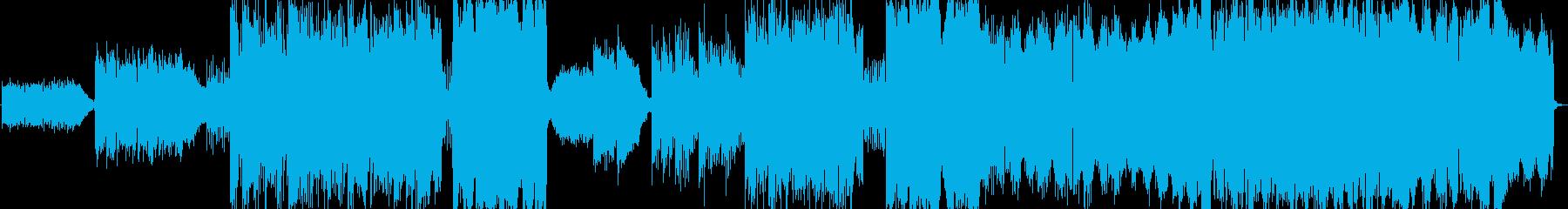大人のギターインストの再生済みの波形