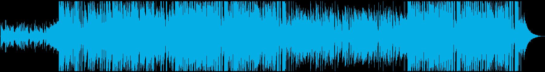 お洒落でアニメなkawaii popの再生済みの波形