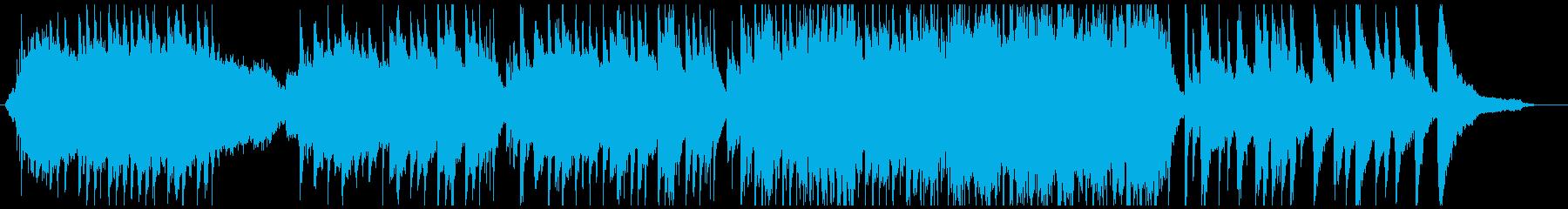 スタイリッシュな和風エレクトロの再生済みの波形