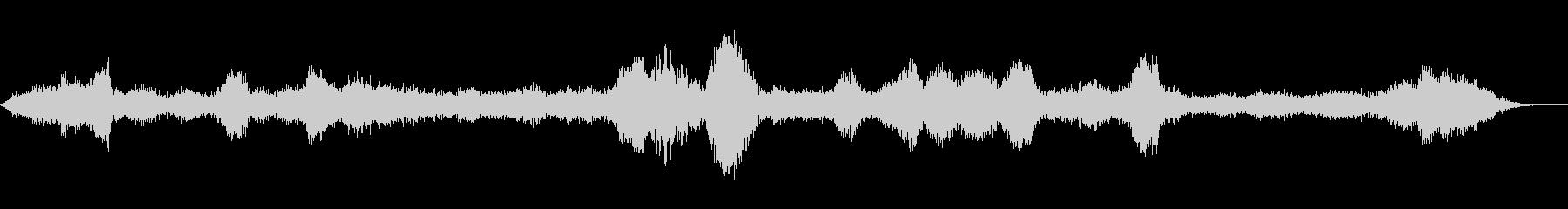 ディスタントレルムの未再生の波形