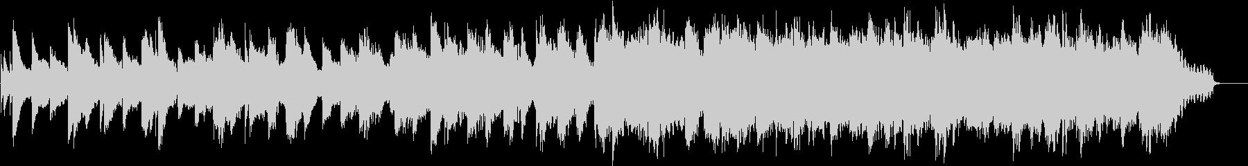 ミステリアス ピアノ・ストリングスBGMの未再生の波形