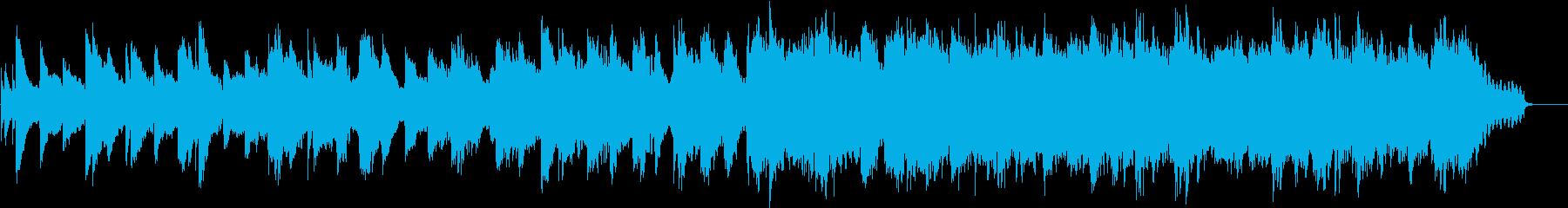 ミステリアス ピアノ・ストリングスBGMの再生済みの波形