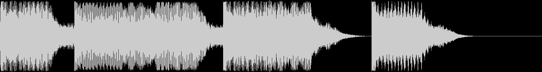 AI メカ/ロボ/マシン動作音 3の未再生の波形