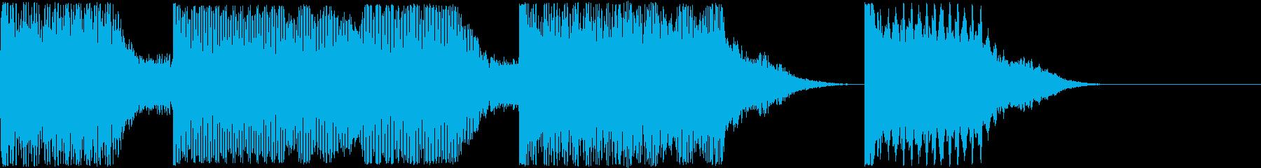 AI メカ/ロボ/マシン動作音 3の再生済みの波形