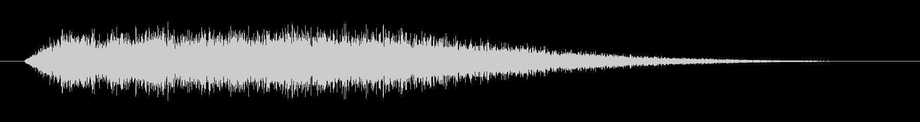ステータス上昇魔法(キャラクター強化)の未再生の波形