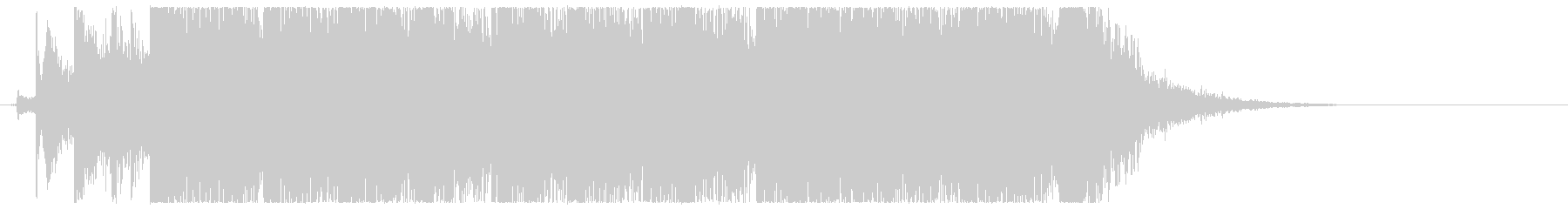 キュートなアニメジングル・アイキャッチ2の未再生の波形