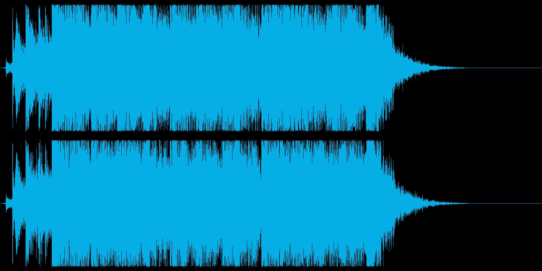 キュートなアニメジングル・アイキャッチ2の再生済みの波形