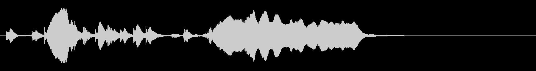 のほほんジングル022_ほのぼの-3の未再生の波形