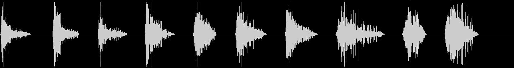 モンスターブレスロア11-20の未再生の波形