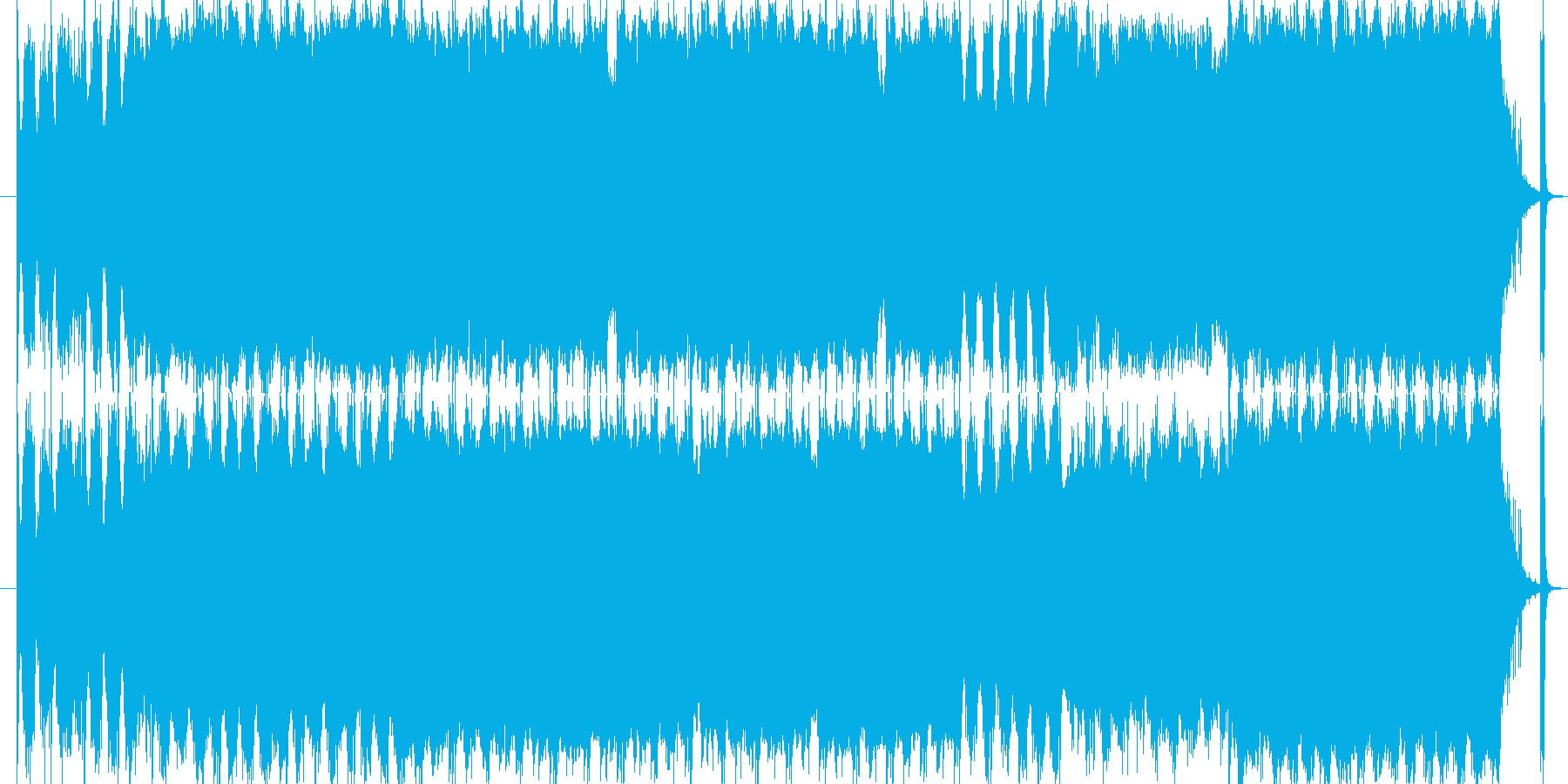バイオリンとビオラのワルツです。の再生済みの波形