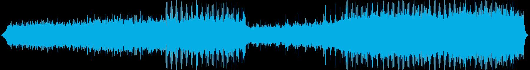 美しいメロディーのヒーリング系バラードの再生済みの波形