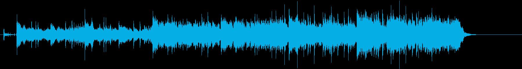 端正で深みのあるバラード風ナンバーの再生済みの波形