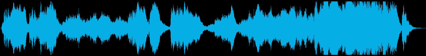 ベートーヴェン「運命」の再生済みの波形