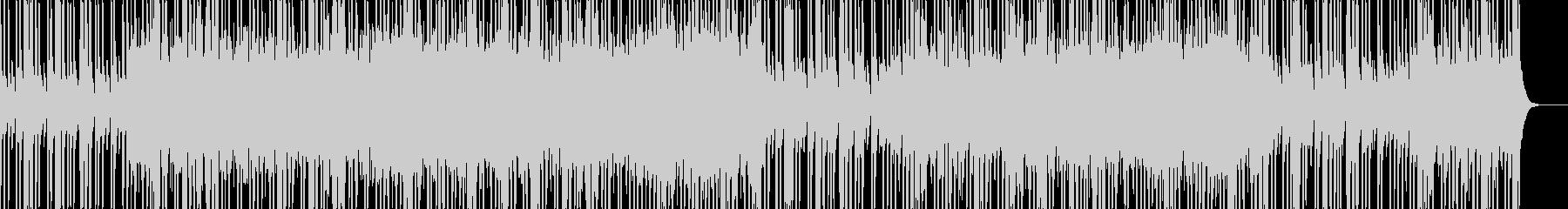 神秘的、幻想的なエレクトロミュージックの未再生の波形