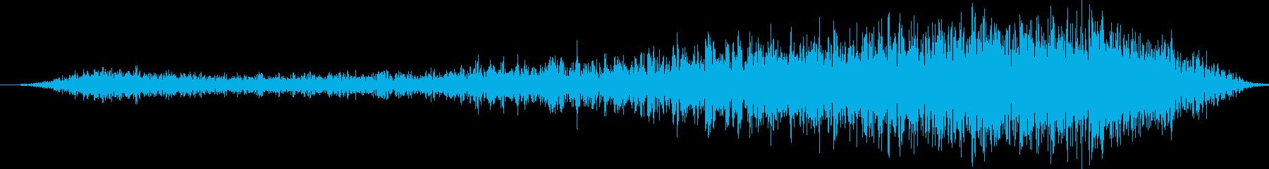 コブラ、インディアンヒス。パースペ...の再生済みの波形