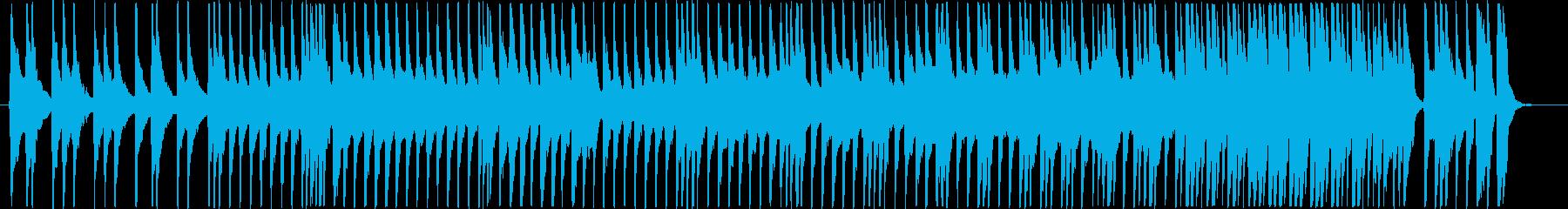 三味線のソロの再生済みの波形