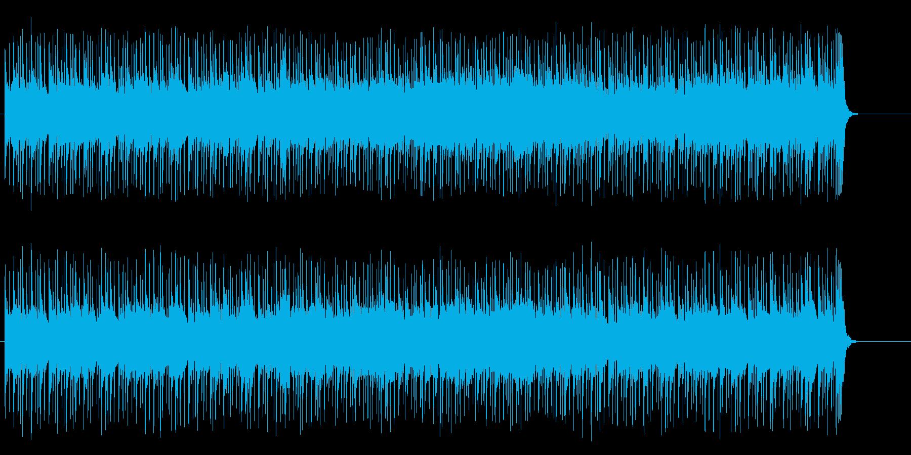 落ち着いたリゾート風フュージョン/ポップの再生済みの波形