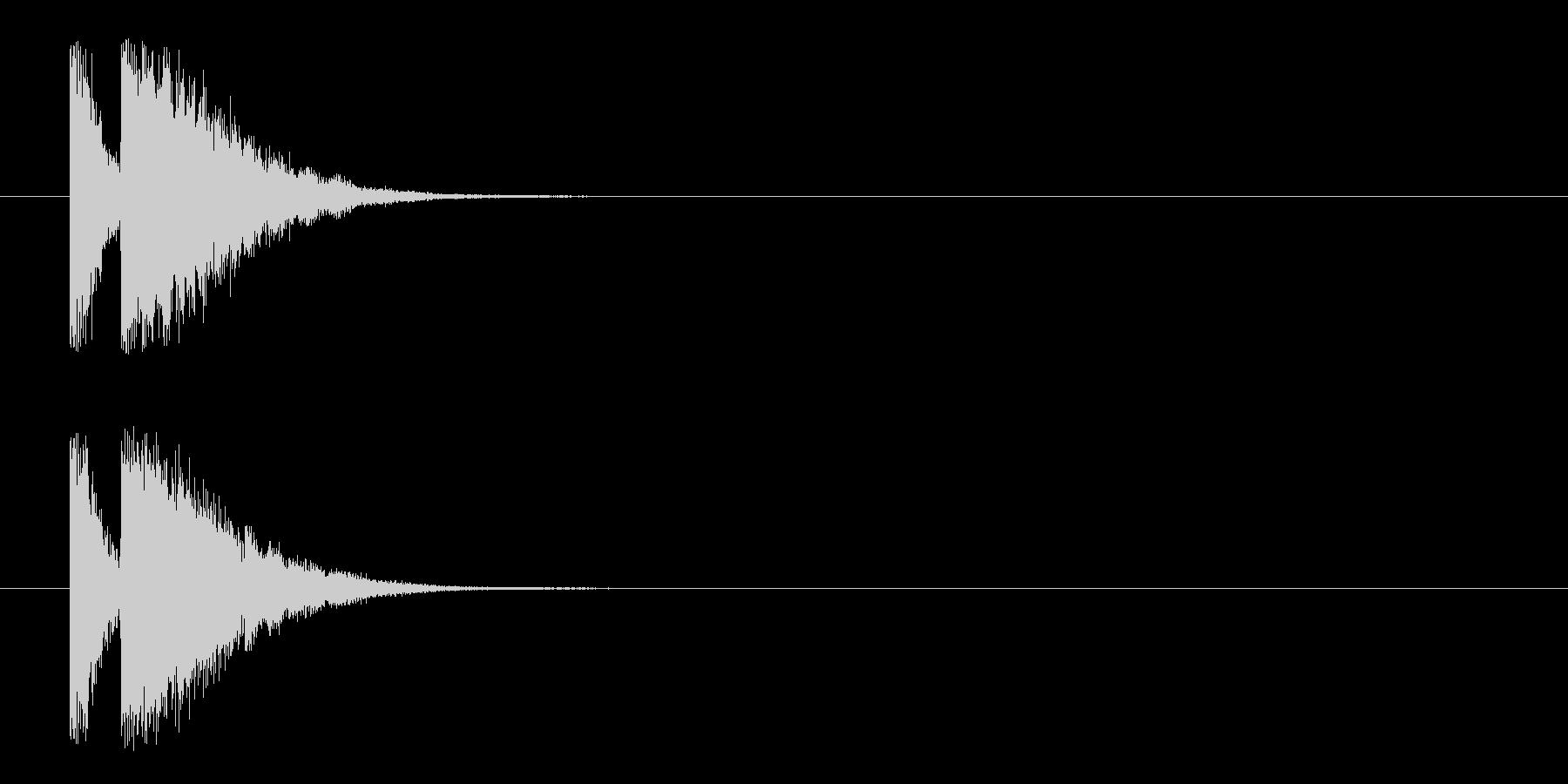 ビームライフル4★リバーブ有の未再生の波形