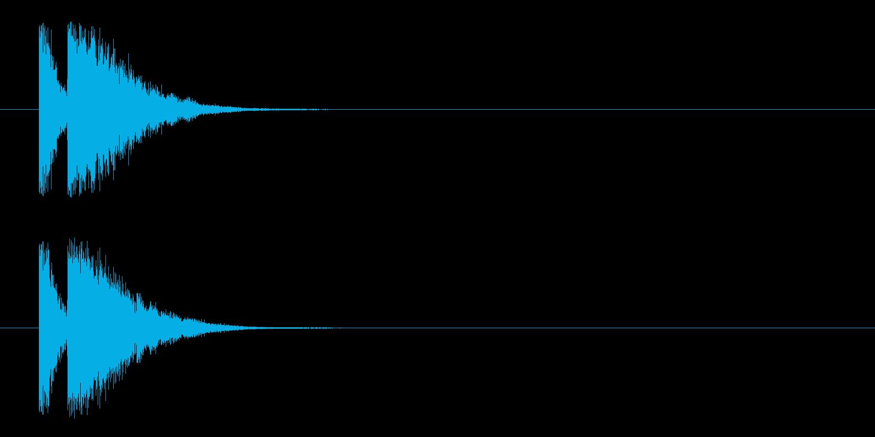 ビームライフル4★リバーブ有の再生済みの波形