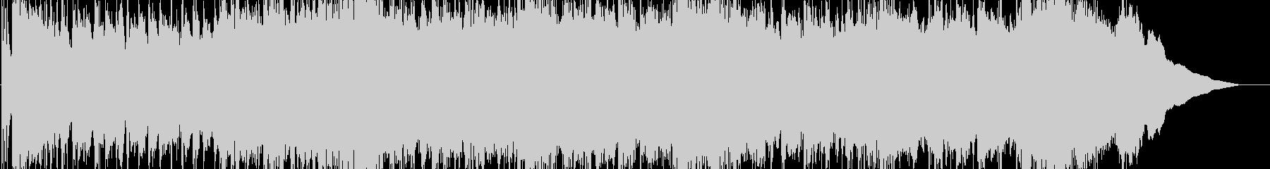 重くダークなメタルナンバーの未再生の波形