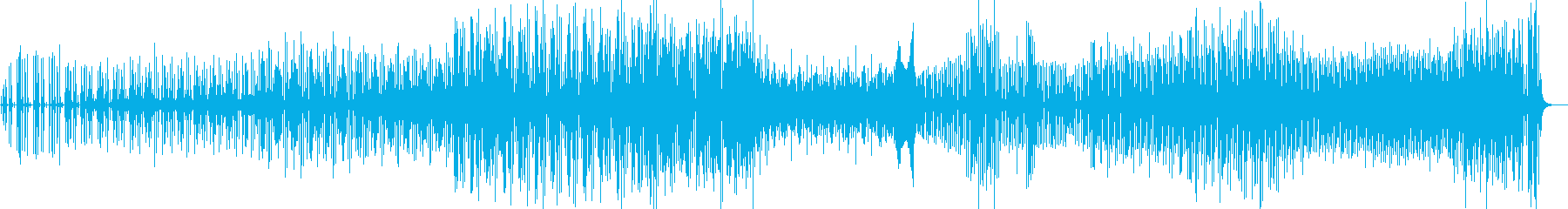 アグレッシブでストレンジなドラムテクノの再生済みの波形