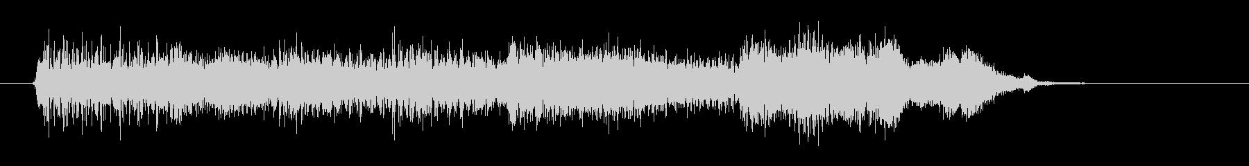 電子音/ピコピコ/決定/選択の未再生の波形