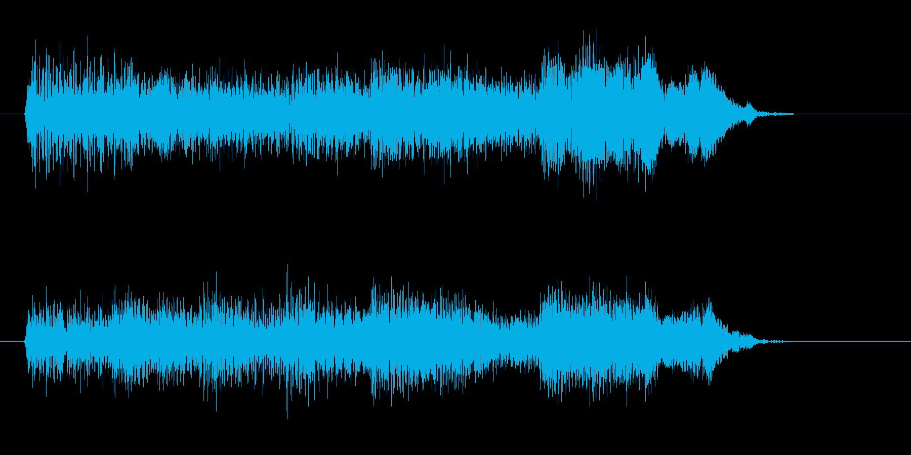 電子音/ピコピコ/決定/選択の再生済みの波形