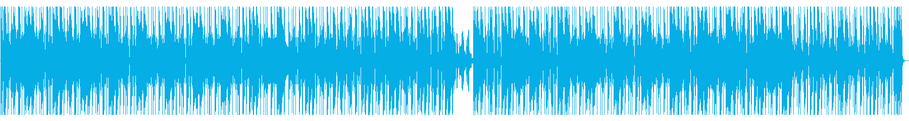 ダークな雰囲気漂うヒップホップ R&Bの再生済みの波形