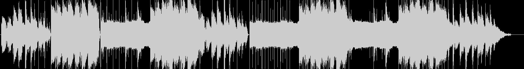 lofi風さわやかなピアノBGM2の未再生の波形