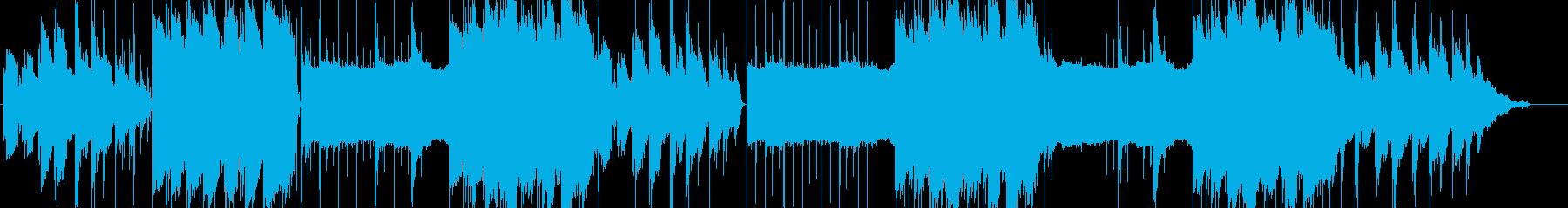lofi風さわやかなピアノBGM2の再生済みの波形