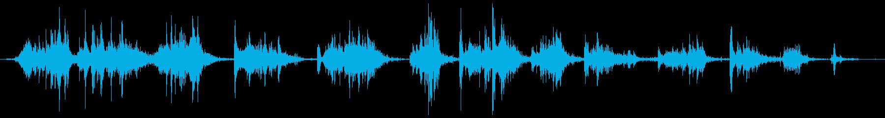 ハードメタルレーキ:スプレッドグラ...の再生済みの波形