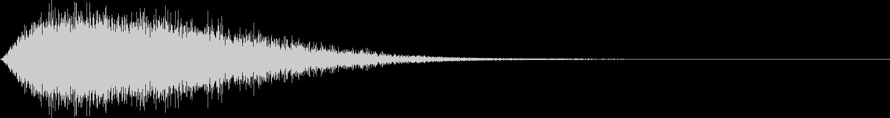 チショーン(低下_追加バリエーション)の未再生の波形