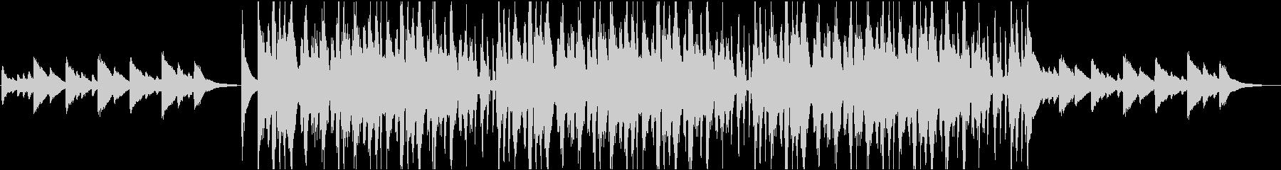 ビブラフォンでの悲しいコード進行は...の未再生の波形