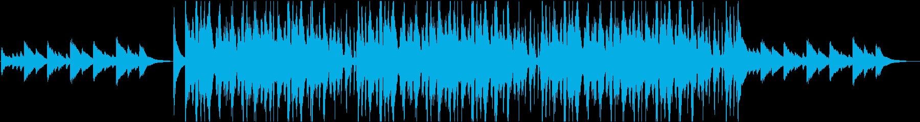 ビブラフォンでの悲しいコード進行は...の再生済みの波形