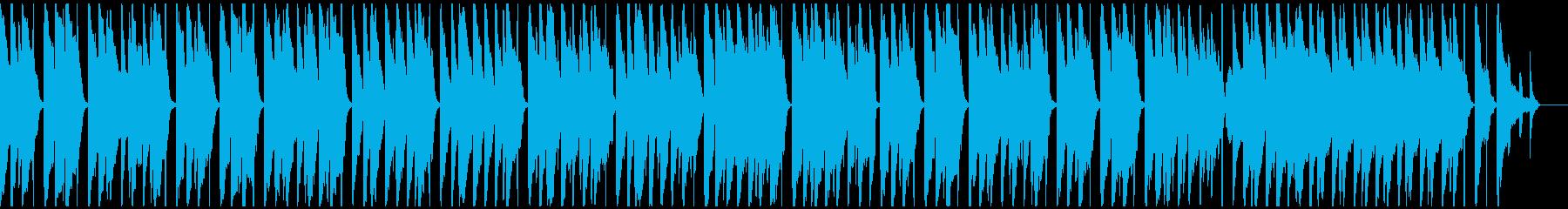 ワーグナー結婚行進曲ウクレレ&リコーダーの再生済みの波形