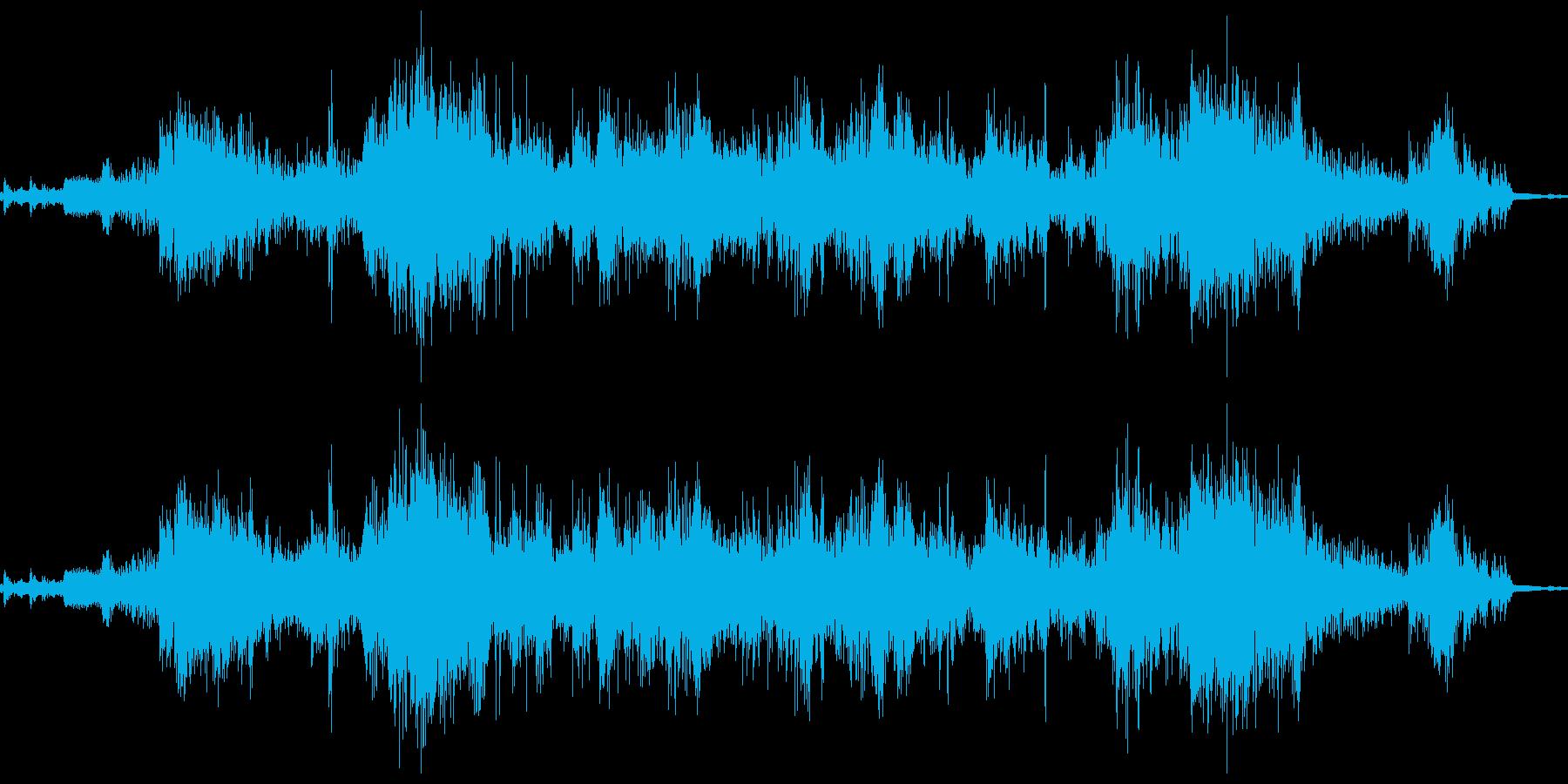鎖鎌の鎖がジャリッの再生済みの波形