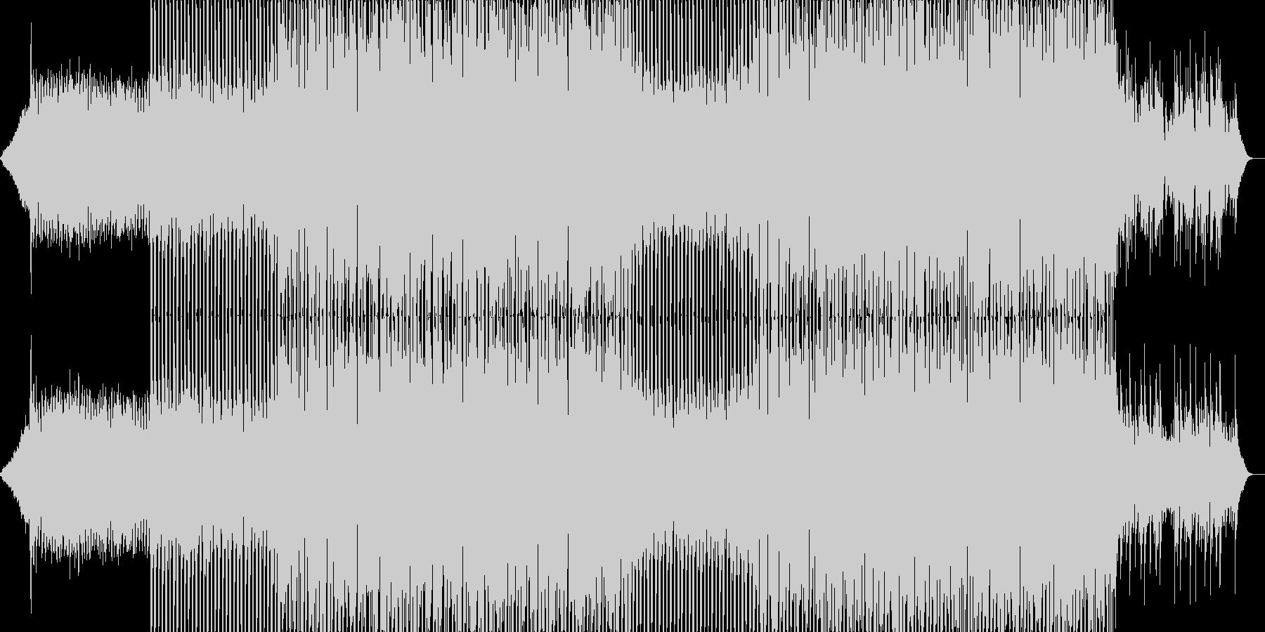 ポップなクラブ系ダンスEDM-07の未再生の波形