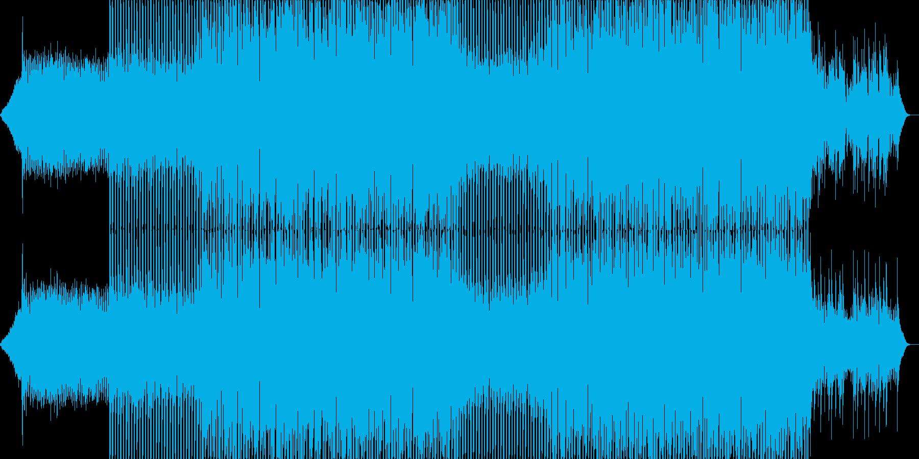 ポップなクラブ系ダンスEDM-07の再生済みの波形
