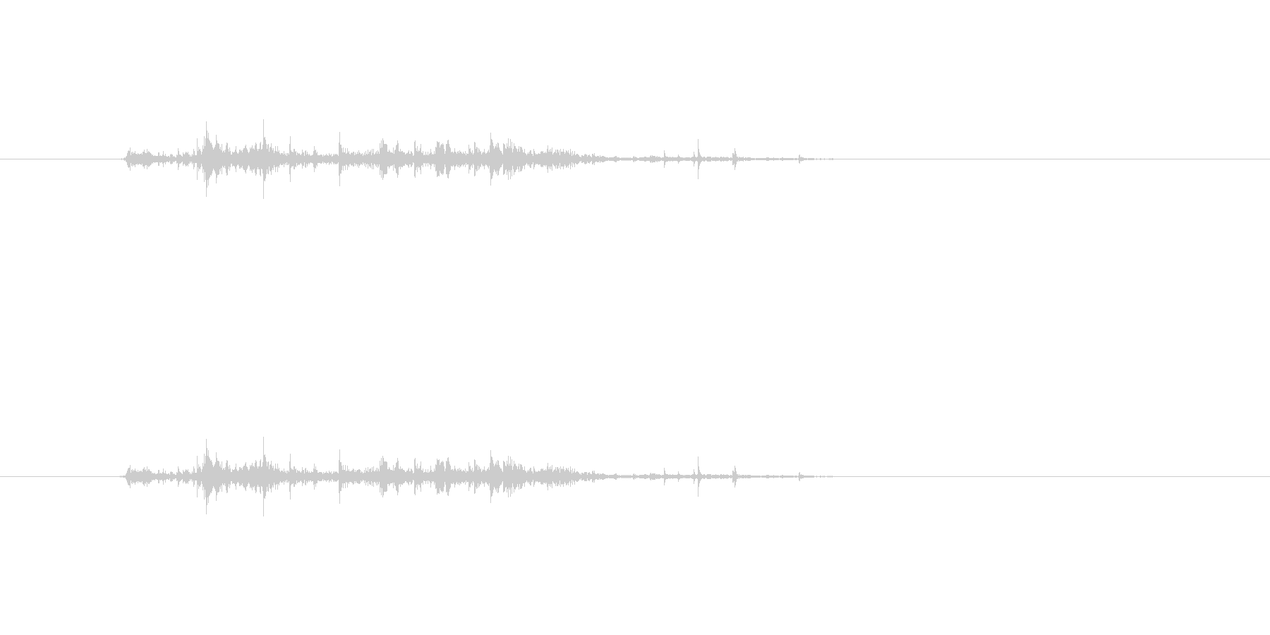 【チラシ01-1(めくる)】の未再生の波形