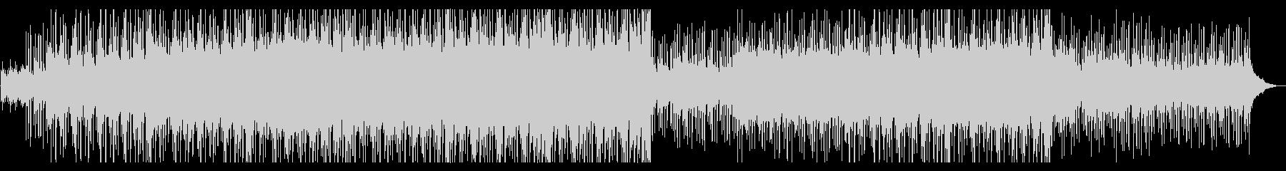 複数のピアノが折り重なる遠景を思わせる曲の未再生の波形