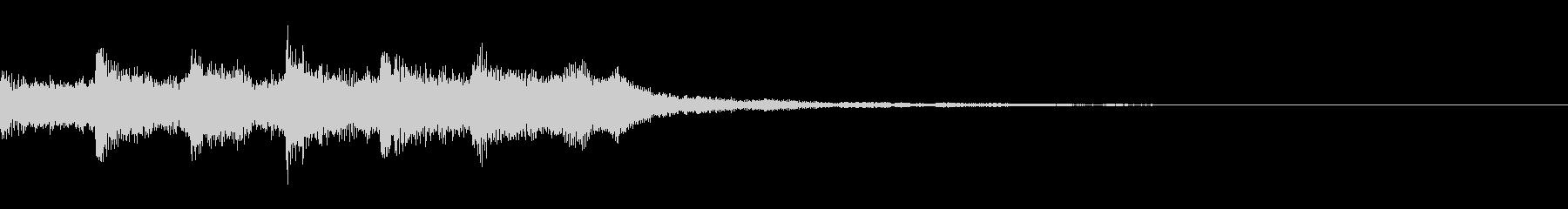 幻想的なチャイコフスキーのピアノ協奏曲の未再生の波形