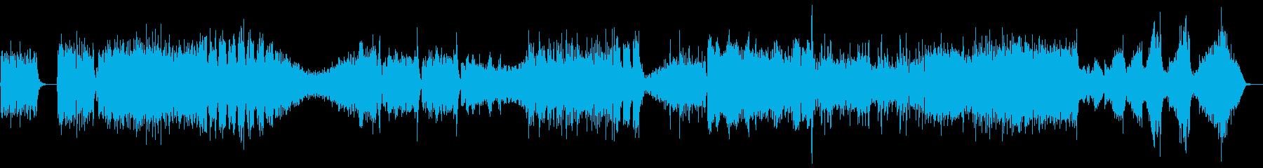 ヴィヴァルディ爽快な弦楽オーケストラの再生済みの波形