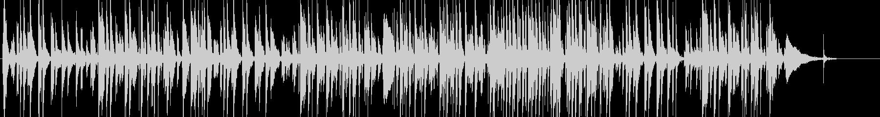 スタンダードナンバーのギターソロアレンジの未再生の波形