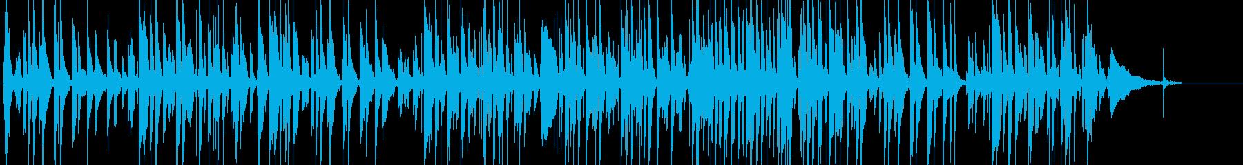スタンダードナンバーのギターソロアレンジの再生済みの波形