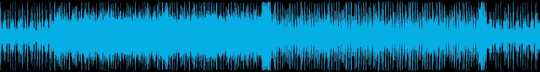 ダークな雰囲気のシリアスチップチューンの再生済みの波形