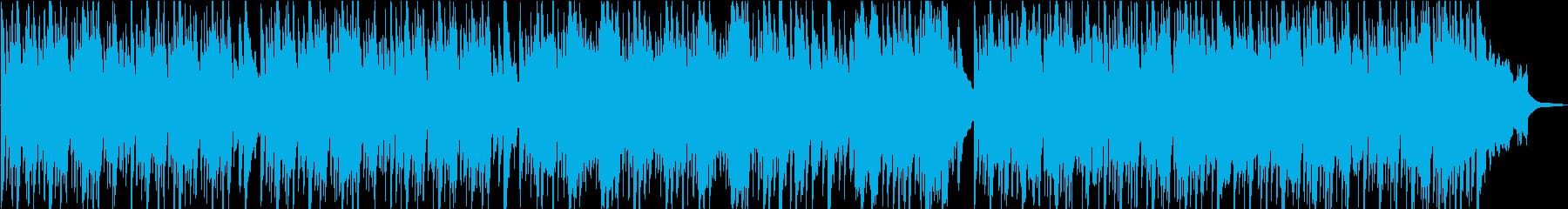 ほのぼの軽快ポップスの再生済みの波形